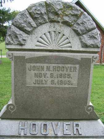 HOOVER, JOHN N. - Union County, Ohio | JOHN N. HOOVER - Ohio Gravestone Photos