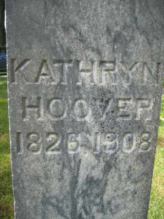 HOOVER, KATHRYN - Union County, Ohio | KATHRYN HOOVER - Ohio Gravestone Photos