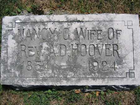 HOOVER, NANCY C. - Union County, Ohio | NANCY C. HOOVER - Ohio Gravestone Photos