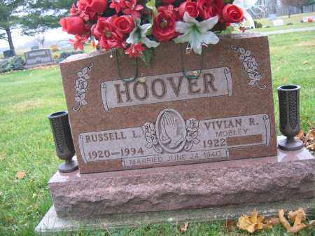 HOOVER, RUSSELL L. - Union County, Ohio | RUSSELL L. HOOVER - Ohio Gravestone Photos