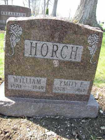 HORCH, EMILY E. - Union County, Ohio | EMILY E. HORCH - Ohio Gravestone Photos