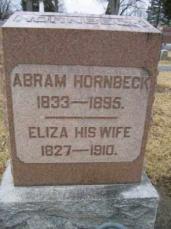 HORNBECK, ABRAM - Union County, Ohio | ABRAM HORNBECK - Ohio Gravestone Photos