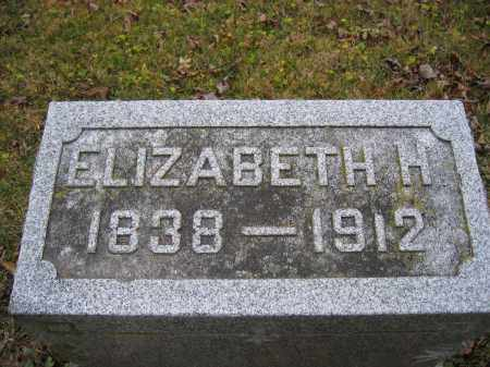 HORNBECK, ELIZABETH H. - Union County, Ohio | ELIZABETH H. HORNBECK - Ohio Gravestone Photos