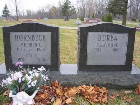 BURBA, E. RAYMOND - Union County, Ohio | E. RAYMOND BURBA - Ohio Gravestone Photos