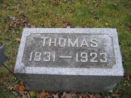 HORNBECK, THOMAS - Union County, Ohio | THOMAS HORNBECK - Ohio Gravestone Photos