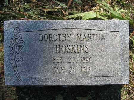 HOSKINS, DOROTHY MARTHA - Union County, Ohio | DOROTHY MARTHA HOSKINS - Ohio Gravestone Photos