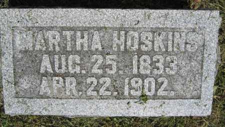HOSKINS, MARTHA - Union County, Ohio   MARTHA HOSKINS - Ohio Gravestone Photos