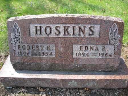HOSKINS, EDNA R. STULTZ - Union County, Ohio | EDNA R. STULTZ HOSKINS - Ohio Gravestone Photos