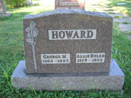 HOWARD, ALLIE BULEN - Union County, Ohio | ALLIE BULEN HOWARD - Ohio Gravestone Photos