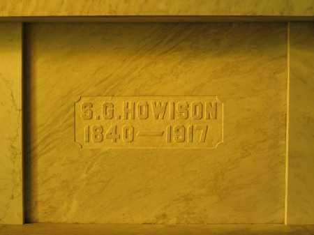 HOWISON, S.G. - Union County, Ohio | S.G. HOWISON - Ohio Gravestone Photos