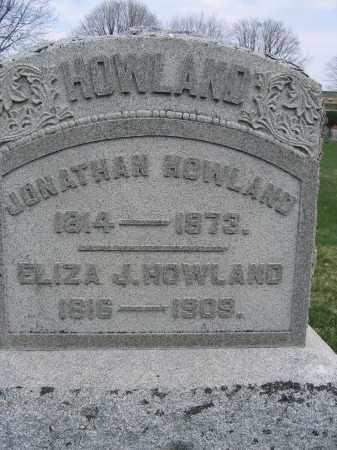 HOWLAND, ELIZA J. - Union County, Ohio | ELIZA J. HOWLAND - Ohio Gravestone Photos