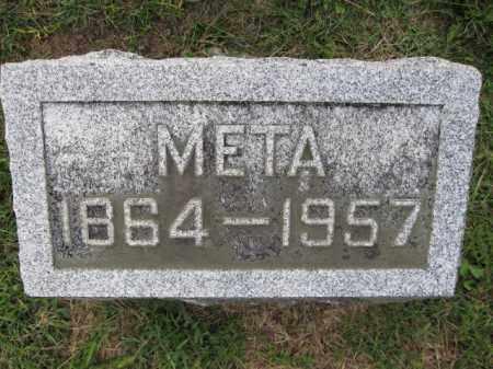 HOY, META - Union County, Ohio   META HOY - Ohio Gravestone Photos