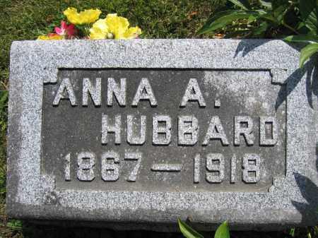 HUBBARD, ANNA A. - Union County, Ohio   ANNA A. HUBBARD - Ohio Gravestone Photos