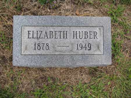 HUBER, ELIZABETH - Union County, Ohio | ELIZABETH HUBER - Ohio Gravestone Photos