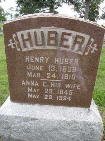 HUBER, HENRY - Union County, Ohio | HENRY HUBER - Ohio Gravestone Photos