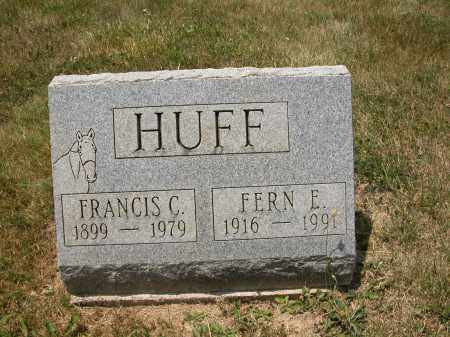HUFF, FERN E. - Union County, Ohio   FERN E. HUFF - Ohio Gravestone Photos
