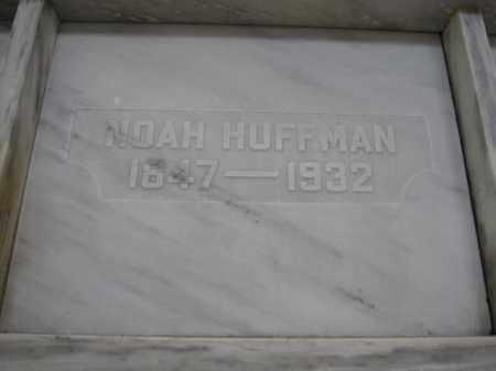 HUFFMAN, NOAH - Union County, Ohio | NOAH HUFFMAN - Ohio Gravestone Photos