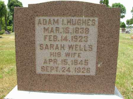 HUGHES, SARAH WELLS - Union County, Ohio | SARAH WELLS HUGHES - Ohio Gravestone Photos