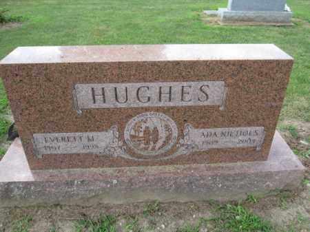HUGHES, ADA NICHOLS - Union County, Ohio   ADA NICHOLS HUGHES - Ohio Gravestone Photos
