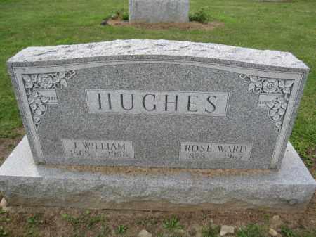 HUGHES, J. WILLIAM - Union County, Ohio | J. WILLIAM HUGHES - Ohio Gravestone Photos