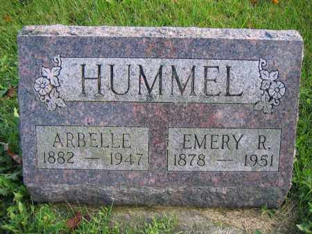 HUMMEL, ARBELLE - Union County, Ohio | ARBELLE HUMMEL - Ohio Gravestone Photos