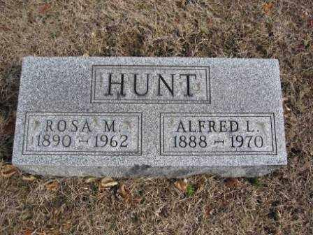 HUNT, ALFRED L. - Union County, Ohio | ALFRED L. HUNT - Ohio Gravestone Photos