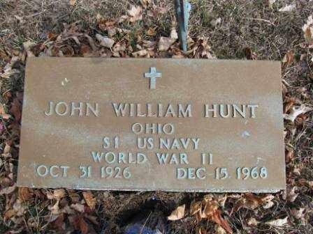 HUNT, JOHN WM. - Union County, Ohio | JOHN WM. HUNT - Ohio Gravestone Photos