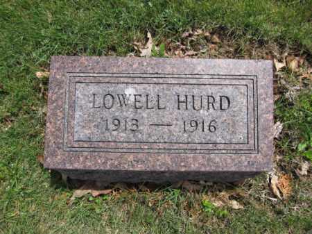 HURD, JERRY LOWELL - Union County, Ohio | JERRY LOWELL HURD - Ohio Gravestone Photos