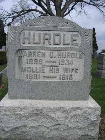 HURDLE, WARREN C - Union County, Ohio   WARREN C HURDLE - Ohio Gravestone Photos