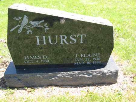 HURST, J. ELAINE - Union County, Ohio | J. ELAINE HURST - Ohio Gravestone Photos