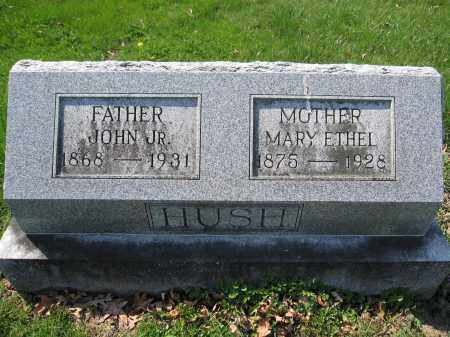 HUSH, MARY ETHEL STEWART - Union County, Ohio | MARY ETHEL STEWART HUSH - Ohio Gravestone Photos