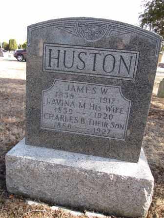 HUSTON, LAVINA M. - Union County, Ohio | LAVINA M. HUSTON - Ohio Gravestone Photos