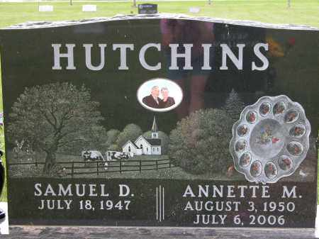 HUTCHINS, SAMUEL D. - Union County, Ohio | SAMUEL D. HUTCHINS - Ohio Gravestone Photos