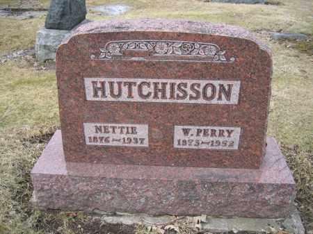 HUTCHISSON, NETTIE - Union County, Ohio | NETTIE HUTCHISSON - Ohio Gravestone Photos