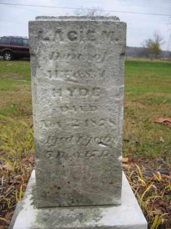 HYDE, LACIE M. - Union County, Ohio | LACIE M. HYDE - Ohio Gravestone Photos
