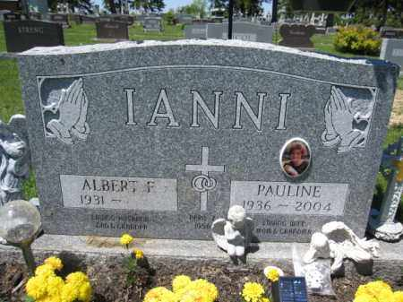 IANNI, ALBERT F. - Union County, Ohio | ALBERT F. IANNI - Ohio Gravestone Photos