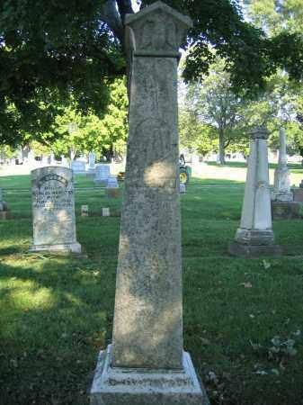 IRVIN, A.J. - Union County, Ohio | A.J. IRVIN - Ohio Gravestone Photos