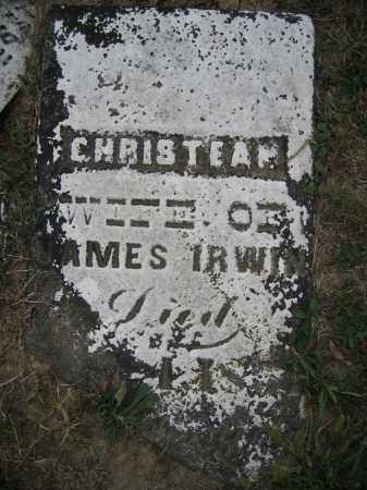 IRWIN, CHRISTEAN - Union County, Ohio | CHRISTEAN IRWIN - Ohio Gravestone Photos