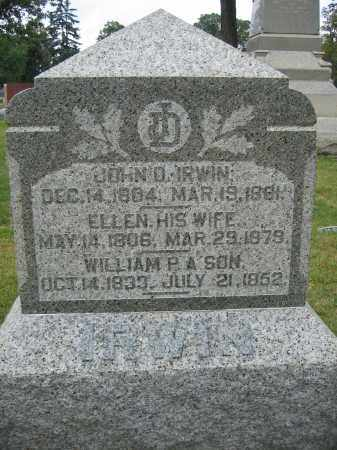 IRWIN, WILLIAM - Union County, Ohio | WILLIAM IRWIN - Ohio Gravestone Photos