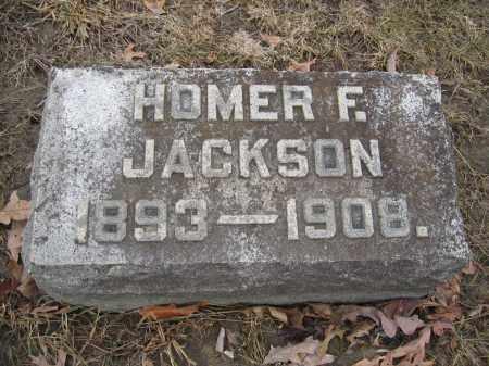 JACKSON, HOMER F. - Union County, Ohio   HOMER F. JACKSON - Ohio Gravestone Photos