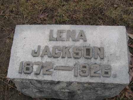 JACKSON, LENA - Union County, Ohio | LENA JACKSON - Ohio Gravestone Photos