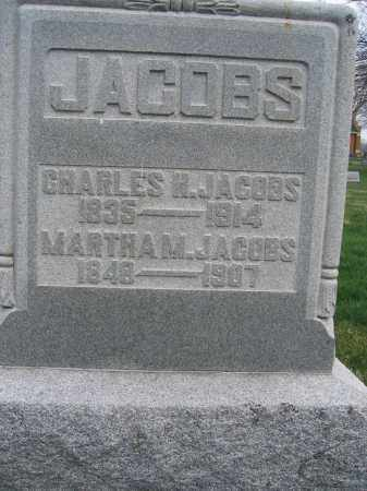JACOBS, MARTHA M. - Union County, Ohio   MARTHA M. JACOBS - Ohio Gravestone Photos