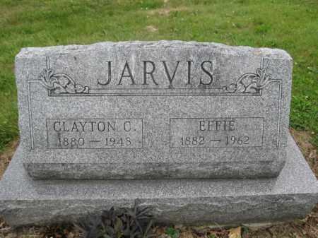 JARVIS, EFFIE - Union County, Ohio   EFFIE JARVIS - Ohio Gravestone Photos