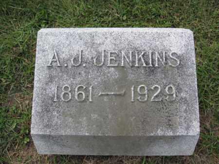JENKINS, A.J. - Union County, Ohio   A.J. JENKINS - Ohio Gravestone Photos
