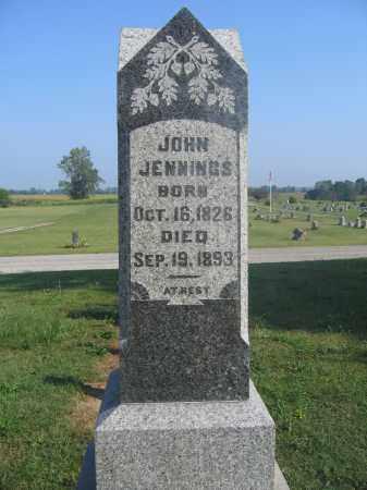 JENNINGS, JOHN - Union County, Ohio | JOHN JENNINGS - Ohio Gravestone Photos