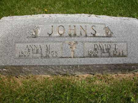 JOHNS, DAVID T. - Union County, Ohio | DAVID T. JOHNS - Ohio Gravestone Photos