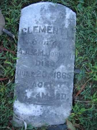 JOHNSON, CLEMENT - Union County, Ohio | CLEMENT JOHNSON - Ohio Gravestone Photos