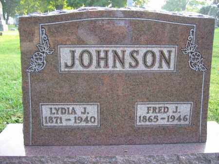 JOHNSON, FRED J. - Union County, Ohio | FRED J. JOHNSON - Ohio Gravestone Photos