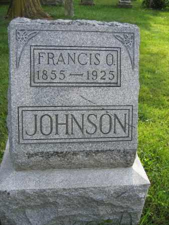 JOHNSON, FRANCIS O. - Union County, Ohio   FRANCIS O. JOHNSON - Ohio Gravestone Photos
