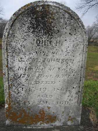 JOHNSON, JOHN H. - Union County, Ohio | JOHN H. JOHNSON - Ohio Gravestone Photos
